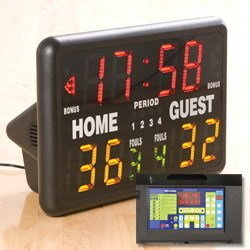 MacGregor Multisport Indoor Scoreboard with Remote by MacGregor