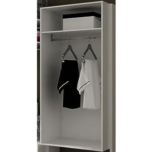 Cassa armadio guardaroba modulare componibile in kit - Emporio del mobile in kit ...