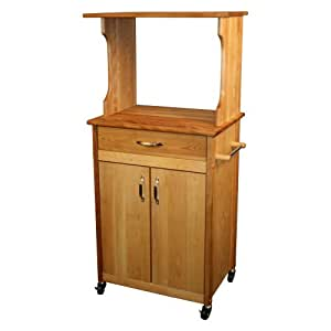 Amazon.com - Catskill Craftsmen Microwave Cart - Serving Carts