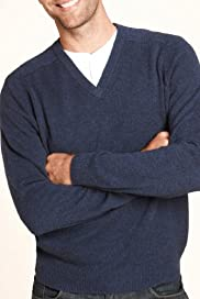 Blue Harbour Pure Lambswool V-Neck Jumper [T30-2510B-S]