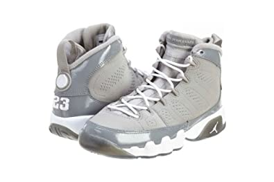 Air Jordan 9 Retro (GS) Cool Grey -302359 015- BOYS