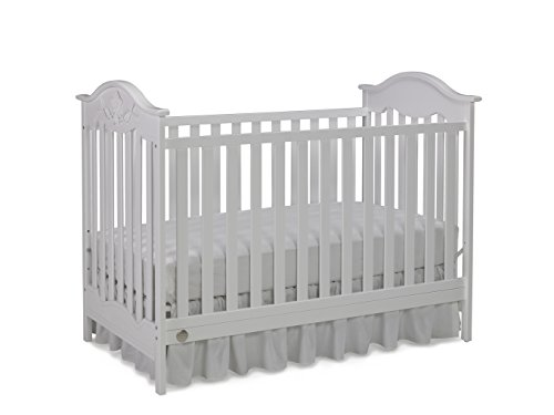 Fisher-Price Charlotte Rose 3-in-1 Convertible Crib, Snow White (Vintage White Crib compare prices)