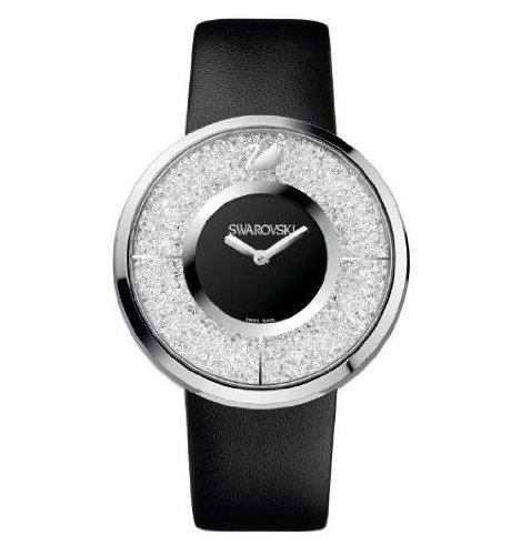 Orologio donna da polso in acciaio Swarovski Crystalline Black 1135988