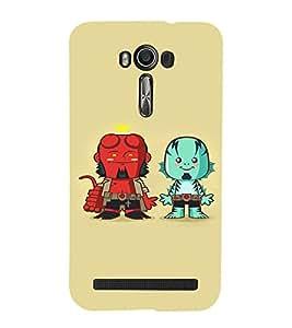 EPICCASE Little Demons Mobile Back Case Cover For Asus Zenfone Go (Designer Case)