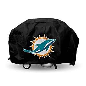 Miami Dolphins Grill Cover Deluxe Heavy Duty -NFL by Hall of Fame Memorabilia