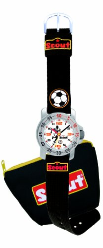 SCOUT Kinderarmbanduhr Action Girls Fussball 280376090