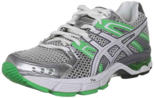 ASICS Women's Gel 3030 Lightning/White/Irish Green Trainer T196N 9301 4 UK