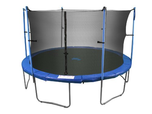 Upper Bounce Trampoline And Enclosure Set Equipped With
