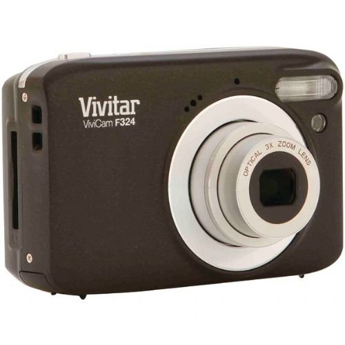 Vivitar 14.1Mp Digital Camera (Vf324-Black-Km)