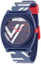 NIXON TIME TELLER P: NAVY / CORAL NA119684-00