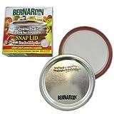 Bernardin Mason Jar Lids - Standard - Silver