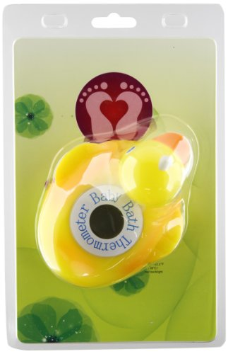 Metro Fulfillment House Baby Luv Bath Thermometer, Ducky Power, 1-Pack