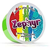 Zephyr, Kinetic Play Dough in containers (Green) Kinetic plasticine Modeling Clay Polymer Clay Could be Baked (Color: Green)
