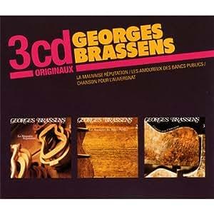 La Mauvaise réputation / Les Amoureux des bancs publics / Chanson pour l'Auvergnat (Coffret 3 CD)