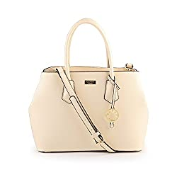 CATHY LONDON WOMENS HANDBAG (BEIGE, CATHY-150)
