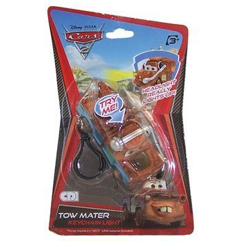 Disney Pixar - CARS 2 - TOW MATER (keychain with light) - 1