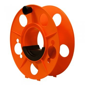 Megaspule-33x14cm-mit-Gleitgriffschale-Kabeltrommel-Schlauchtrommel-Seiltrommel-inklusive-Kurbel