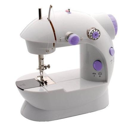 Michley Lil' Sew & Sew White&lavender Mini Sewing Machine & Accessories 3-Piece Value Bundle (Michley Lil Sew And Sew Bobbins compare prices)
