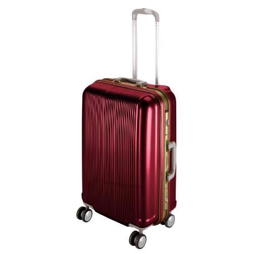 キャプテンスタッグ(CAPTAIN STAG) グレル トラベルスーツケース TSAロック付きHFタイプ S ワインレッド UV-6