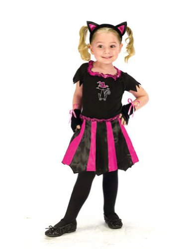 Baby-Toddler-Costume Cat Sweetheart Toddler Costume 3T-4T Halloween Costume
