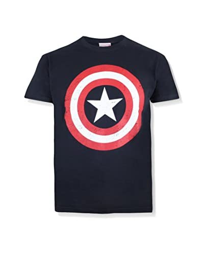 MARVEL Camiseta Manga Corta Captain America Shield