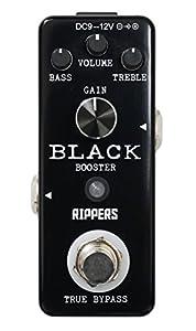 【RIPPERS】 ミニペダル シリーズ クリーンブースター BLACK BOOSTER (国内正規品)