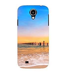 PrintVisa Travel Beach Sunset Design 3D Hard Polycarbonate Designer Back Case Cover for Samsung Galaxy S4 Mini