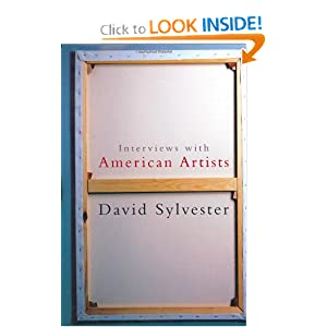 Interviews with American Artists David Sylvester