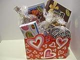 Diabetic Candy Sweetheart design Gift Basket Sugar Free