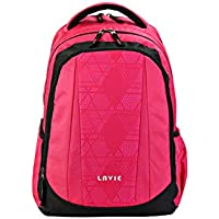 Lavie Prime 3 Pink Casual Backpack (B00120003022)