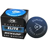 Dunlop Sports Squash Doubles Red Dot Hardball, Blue (Pack Of 12)