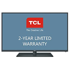 TCL LE32HDE5300 32-Inch 720p Slim LED HDTV with 2-Year Limited Warranty (Black)
