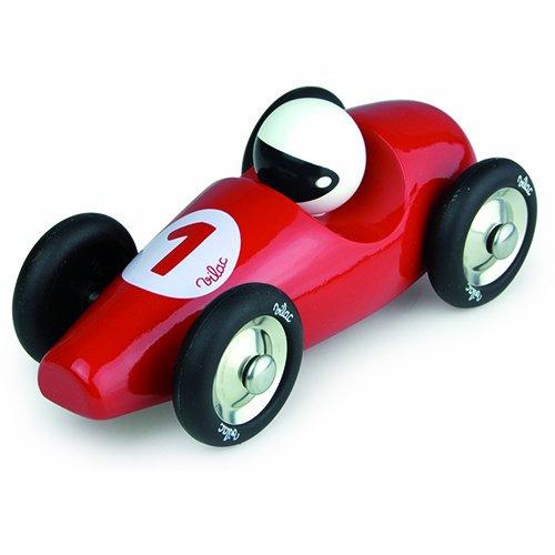 Vilac Large Race Car, Red - 1