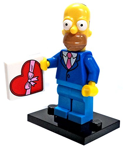 LEGO The Simpsons Series 2 Collectible Minifigure 71009 - Homer Simpson (Best Suit and Tie) (Lego Suit)