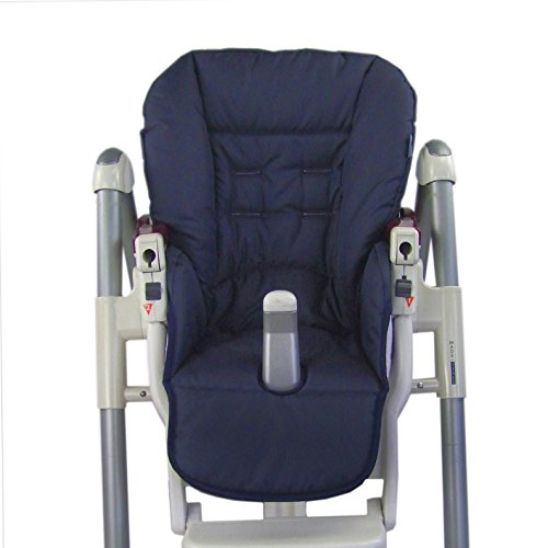 Babys-Dreams-Sitzkissen-Ersatzbezug-fr-Peg-Perego-Prima-Pappa-Diner-MARINEBLAU-NEU