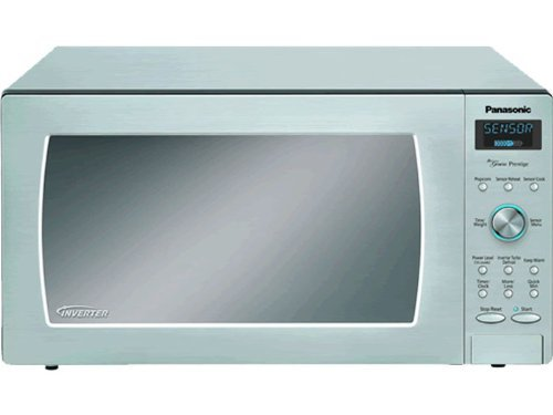 Panasonic NN-SD797S Stainless 1250W 1.6 Cu. Ft. Countertop/Built-in Microwave with Inverter Technology (Panasonic Nn Sd797s compare prices)