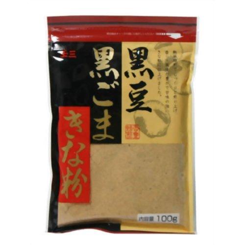 玉三 黒豆黒ごまきな粉 100g