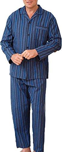 kentex-onlineherren-schlafanzug-blau-blau