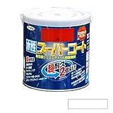 アサヒペン 水性スーパーコート 白 0.7L [水性多用途塗料]