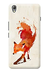 Accedere Printed Back Cover Case for OnePlus X