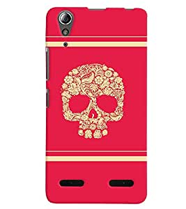 PrintVisa LENA6000PLUS-Villain Skull Bond Don Art Colorful Plastic Back Cover (Multicolor)