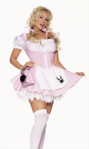 Halloween Costumes Miss Muffet Adults Costume MEDIUM