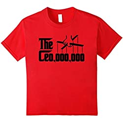 Kids Ceo 000 000 Shirt The CEO,000,000 Godfather Puppet Hand 4 Red