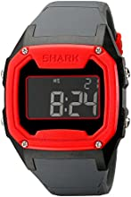 Freestyle Men39s 101994 Shark Oversize Case Digital Retro Digital Red Watch