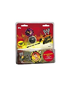 WWE 2011 Topps WWE Power Chipz Clamshell Pack