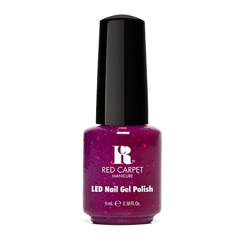 Red Carpet Manicure - Led Gel Polish - Garnet - 9Ml / 0.3Oz