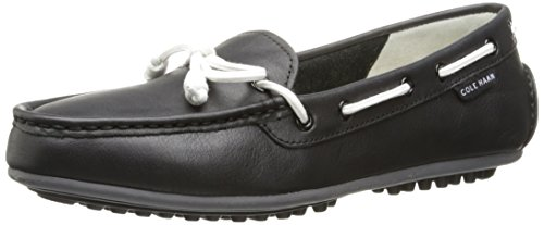 Cole Haan Women's Grant Escape Slip-On Loafer, Black Leather, 7.5 B US (Cole Haan Grant Lte compare prices)