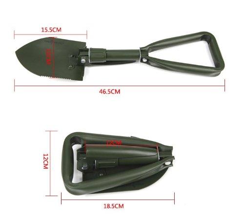 Free Soldier Outdoor Multi-function Folding Shovel Garden Spade (M)