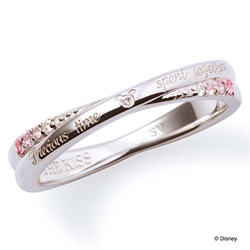 [ザ・キッス] THE KISS DI-SR6018DM 11号 【ディズニーコレクション】隠れミッキー/ダイヤモンド crossing レディースリング