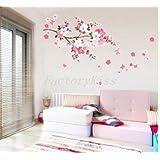 A NEW Sakura Flower Removable Wall Sticker Paper Mural Art Decal Home Room Decor